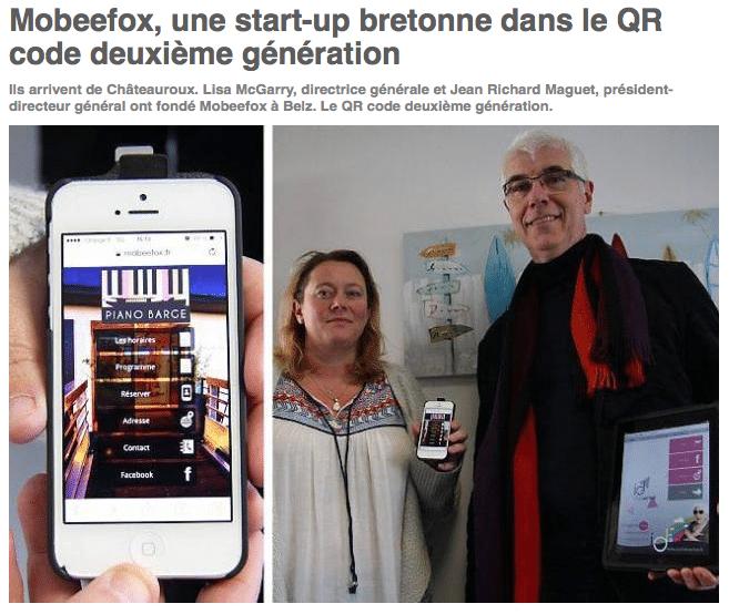 Lisa McGarry et Jean-Richard Maguet, les fondateurs de Mobeefox.