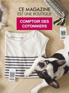 Boutique éphémère mobile Comptoir des Cotonniers.