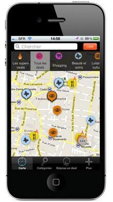 La géolocalisation sur mobile, à la rescousse des commerces locaux !