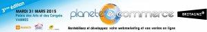 Bandeau Planète e-commerce Vannes 2015