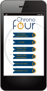 Smartphone chronofour